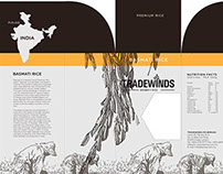 Project: Tradewinds Rice packaging