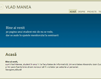2008 Personal website variant