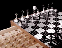 Duchamp chess set/ Product Design