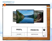 2007 Aquaproiect construction company website
