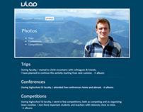 2009 Personal website variant