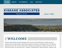 Law Firm Website for a local town in Vermont, USA