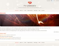 2009 FII Gamedev club website