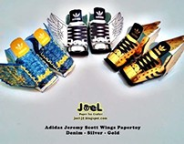 Adidas Jeremy Scott Wings Papertoy