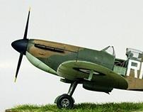 Supermarine Spitfire Mk1, RN-J, 72Sqn