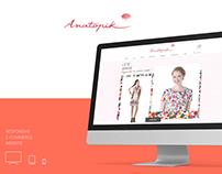 Anatopik Magento website