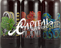 Capital Brewery Bomber Series