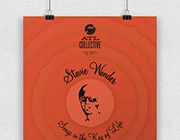 Stevie Wonder Poster for ATL Collective