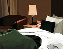 "Illustration for magazine ""Comfort of Time"""
