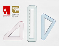 Rounded Ruler
