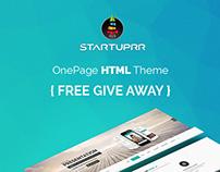 Startuprr - OnePage HTML [FREE GIVE AWAY]