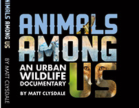 DVD cover design for Animals Among Us, by Matt Clysdale