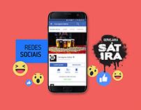 Gerenciamento de Redes Sociais - Cervejaria Sátira