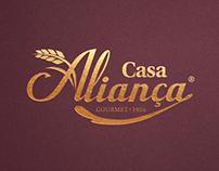 Casa Aliança - Bakery Rebranding