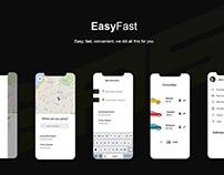Yandex Taxi Application