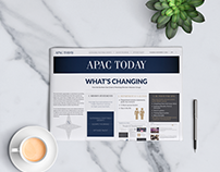 APAC Today - newspaper (event collateral)