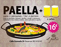 paella beer look & smile