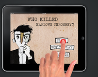 Interactive Book ''Who Killed Harlowe Thrombey?''