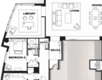 Interior Design Study - Austonian Floorplan
