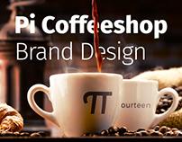 Pi Coffeeshop/ Branding