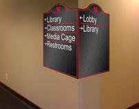 Interior Design Study - Campus Wayfinding Project