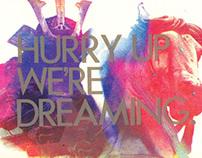 M83 HU,WD Tour poster