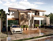 Casa Aurora II (Proyecto) / 2019