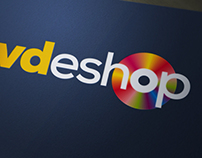 Logotype design for a DVD e-shop - 2012