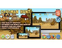 HTML5 Game: Caveman Hunt