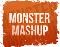 Monster mashup - Halloween