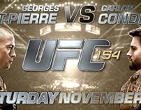 UFC 154 Titles (concept)