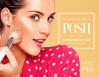 POSH - Free PSD Beauty Template