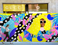 Gucci working site artwork