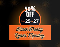 Black Friday Joomla and Wordpress Discount