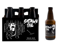 Satan's Tail Beer Packaging