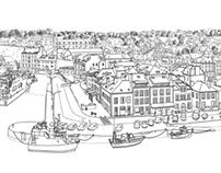 Belle-Ile Illustration