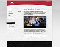 Areva Blog Design