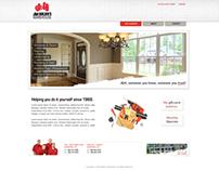 J&H Builders Website Design (early concepts)