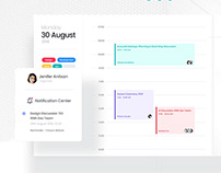 LetsMeet - Dashboard UI