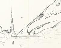 Moleskine Sketches 2012