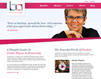 Betty Ann Heggie Website Design