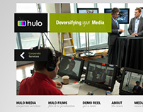 Hulo Media Website Design