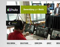 Hulo Media Website Design