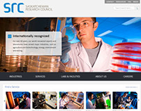 Saskatchewan Research Council Website Design