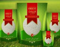 ORIENT RICE Branding