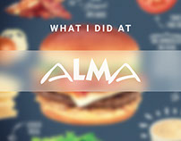 What I did at Alma | McDonald's - Clubhouse Love Story