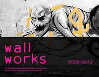 wall works 2008-2012