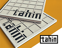 TAHİN 'Lebanese' Kitchen - Brand Guidelines Book