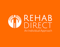 Rehab Direct | Branding, Print Design & Web Design