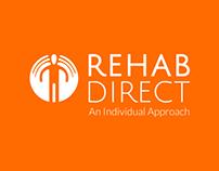 Rehab Direct | Branding, Print Design & Web Design